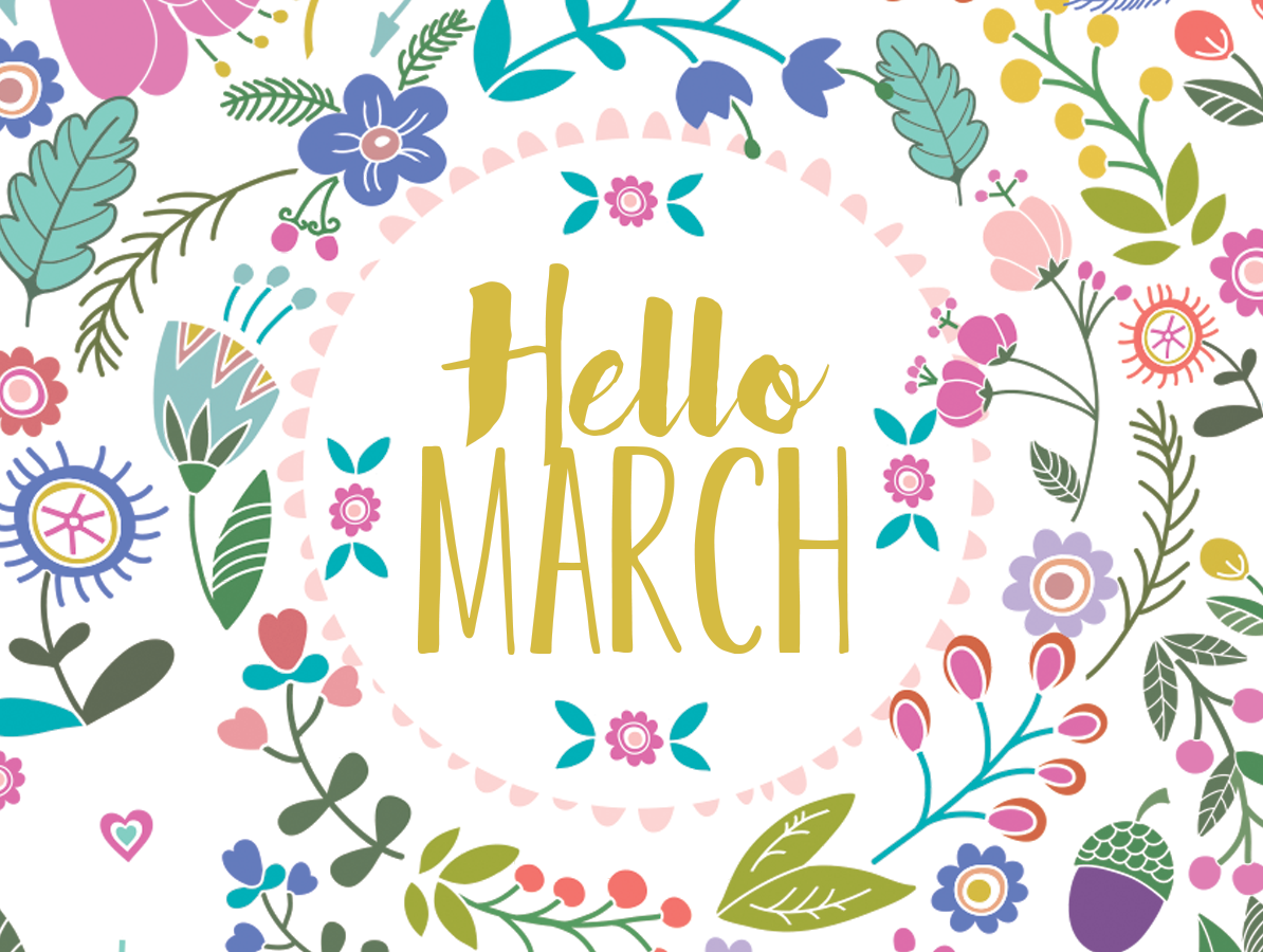MARCH FAVORITES 2019